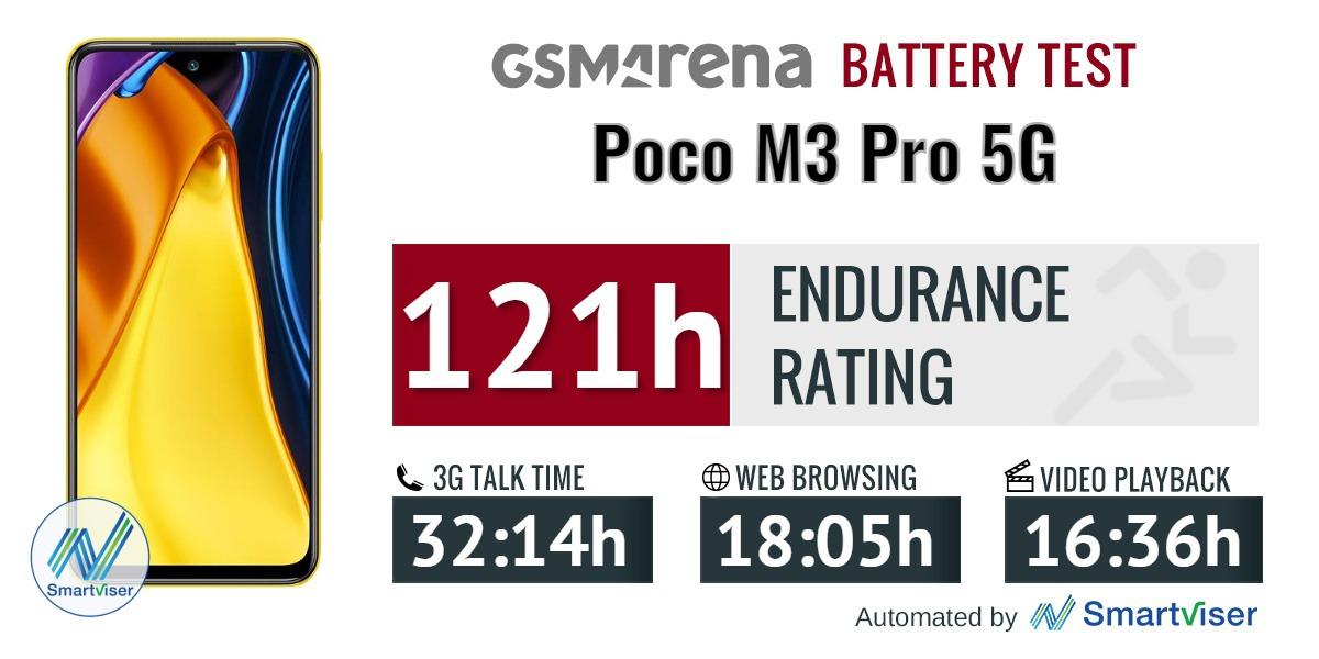 بررسی باتری گوشی شیائومی پوکو ام 3 پرو 5G