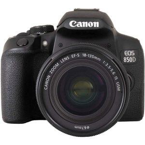 دوربین دیجیتال کانن مدل EOS 850D به همراه لنز 18-135 میلی متر IS USM
