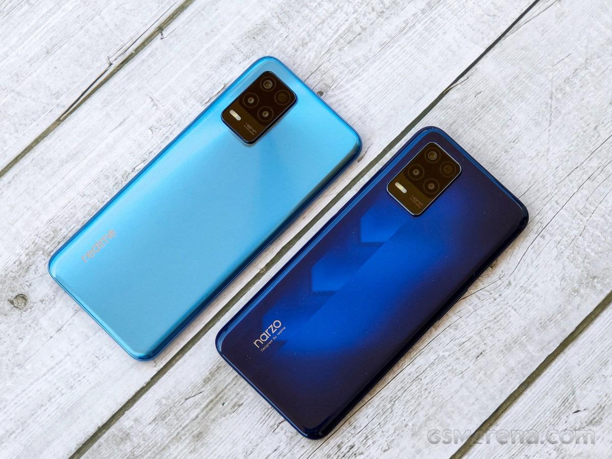بررسی طراحی گوشی ریلمی نارزو 30 نسخه 5G