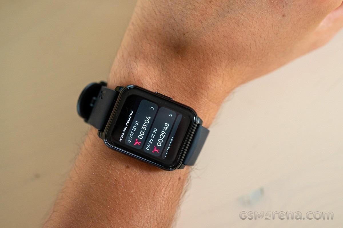 بررسی نمایشگر ساعت هوشمند ریلمی واچ 2
