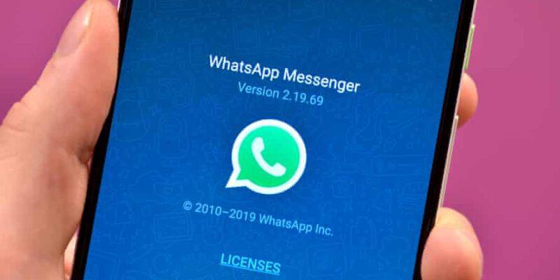 در واتساپ عکس و فیلم یکبار مصرف ارسال کنید !!!