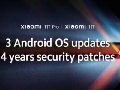شیائومی 11T و 11T Pro سه سال بهروزرسانی اندروید و 4 سال وصله امنیتی دریافت خواهند کرد