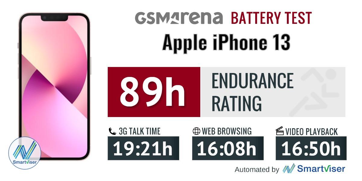 بررسی باتری آیفون 13 اپل