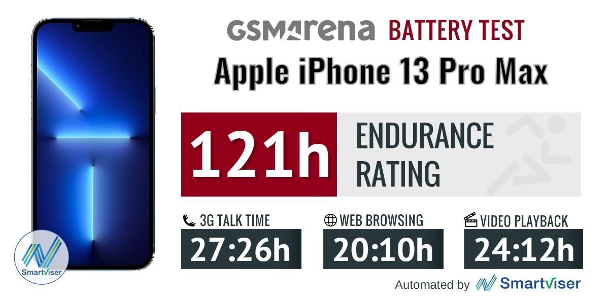 بررسی باتری آیفون 13 پرو مکس اپل