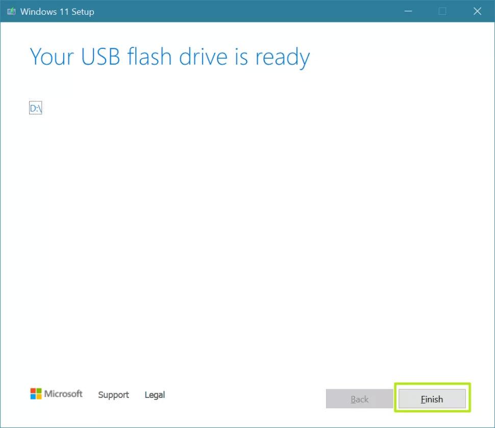 نصب ویندوز ۱۱ با Windows 11 installation media